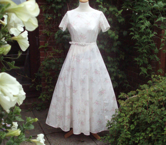 1980s Laura Ashley Dress