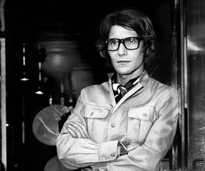 Vintage Photo of Yves Saint Laurent