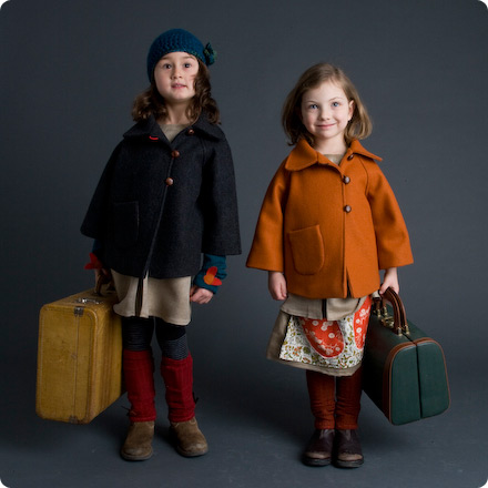 Patouche vintage-inspired children's clothing