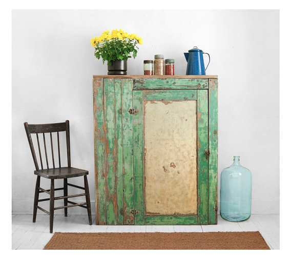 old retro cupboard furniture french pine vintage surrey cabinet painted urban in ark product
