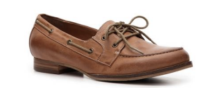"Crown Vintage ""Adore Leather Boat Shoe"""