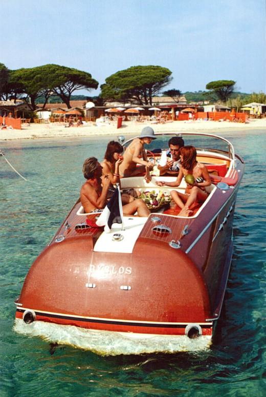 Vintage Boat Trip