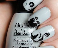 Audrey Hepburn Vintage Inspired Nails
