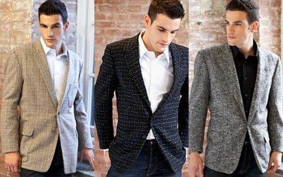 Modern Retro Fashion Men Vintage Clothes For Held