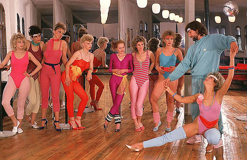 1980s work out fashion