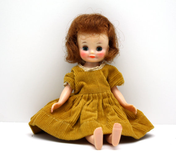 vintage doll that